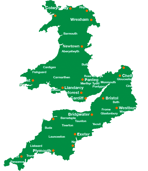 New Supply Postcode Check | Wales and West Utilities