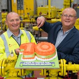 Wales & West Utilities South Wales colleagues celebrate 10 year anniversary