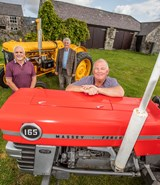 North Wales tractor run raises £1,000 for charity