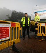Exeter gas works complete ahead of schedule