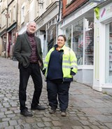 Frome traders thank Wales & West Utilities for courteous working
