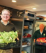 Teignbridge foodbank receives essential funding to help cope with demand